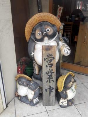 亀戸餃子 大島店のたぬき