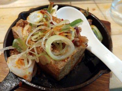汁抜き麻婆豆腐